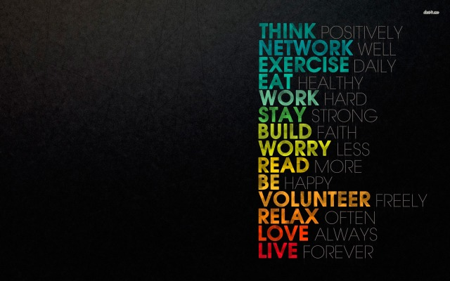 Simple Rules for a Satisfied Life