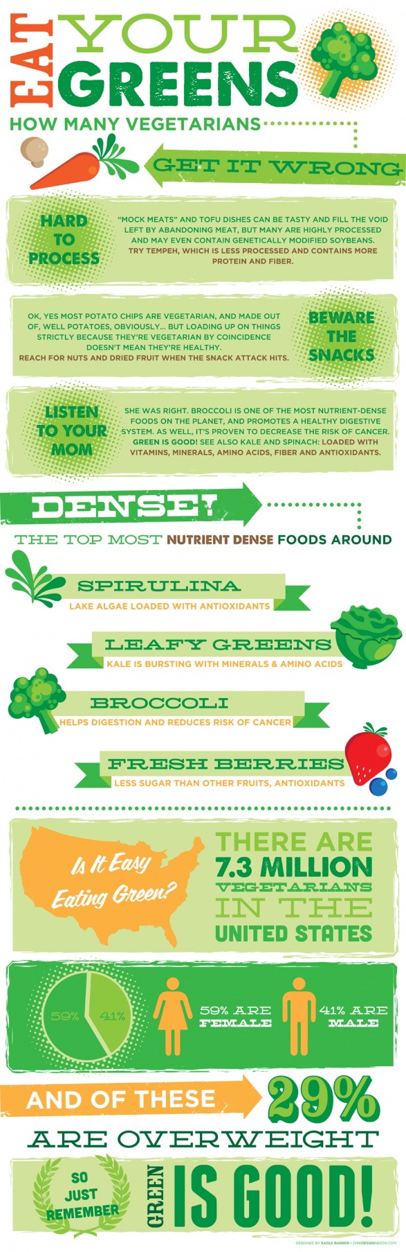 Eat Your Greenz - Infographic